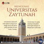 Universitas Zaitunah, Pabrik Penghasil Cendikiawan Muslim Pertama